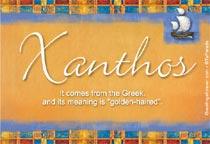 Name Xanthos