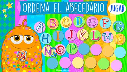 Ordena el abecedario