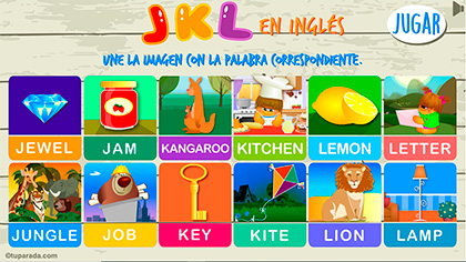 Juego JKL en inglés