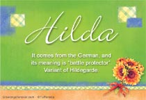 Name Hilda