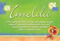 Name Imelda
