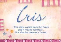 Name Iris