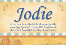 Name Jodie