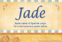 Name Jade