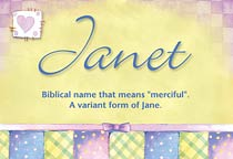 Name Janet