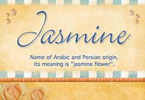 Name Jasmine
