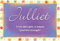 Name Julliet