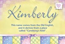 Name Kimberly