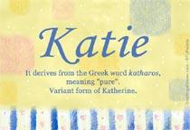 Name Katie