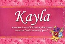 Name Kayla