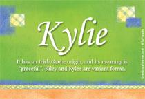 Name Kylie