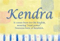 Name Kendra