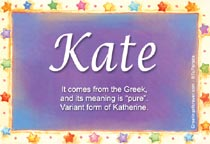 Name Kate