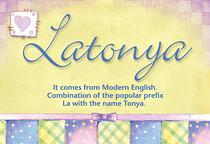 Name Latonya