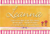 Name Leanna