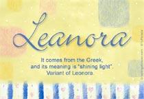 Name Leanora