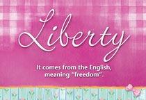 Name Liberty
