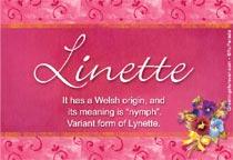 Name Linette