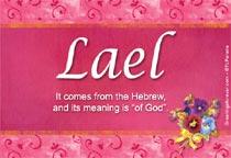 Name Lael