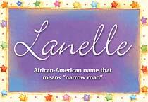 Name Lanelle