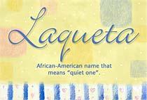 Name Laqueta