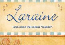 Name Laraine