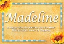 Name Madeline