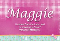 Name Maggie