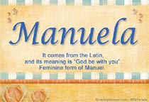 Name Manuela