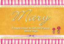 Name Mary