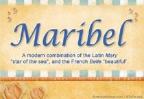 Name Maribel