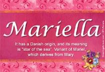 Name Mariella