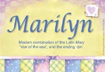 Name Marilyn