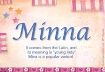 Name Minna