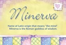 Name Minerva