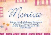 Name Monica