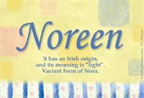 Name Noreen