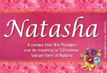Name Natasha