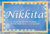 Name Nikkita
