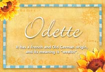 Name Odette