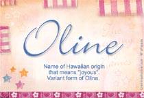 Name Oline