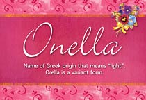 Onella Name Meaning Onella Name Origin Name Onella Meaning Of