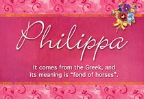 Name Philippa