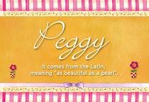 Name Peggy