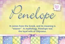 Name Penelope