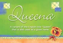 Name Queena