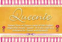 Name Queenie
