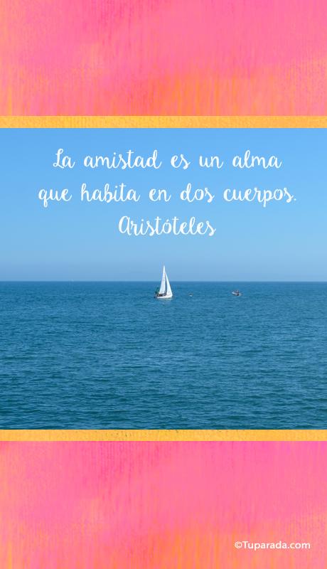 La amistad por Aristóteles - Mobile