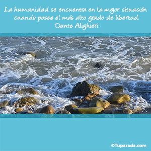 La humanidad por Dante Alighieri