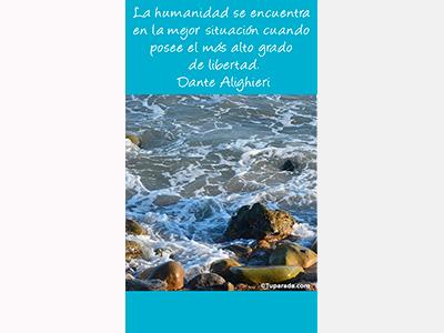 La humanidad por Dante Alighieri - Mobile